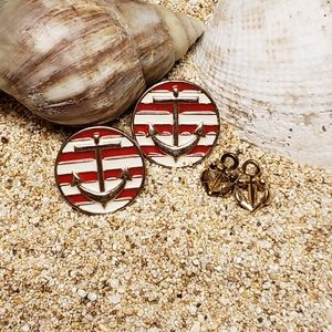 Nautical Set of Earrings